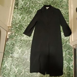 H&M long black jacket